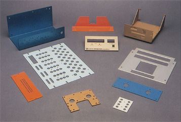 CNC Punch Press Parts